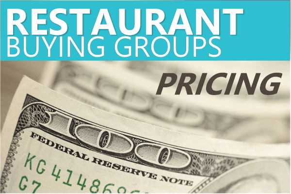 pricing for restaurant buying groups for food discounts
